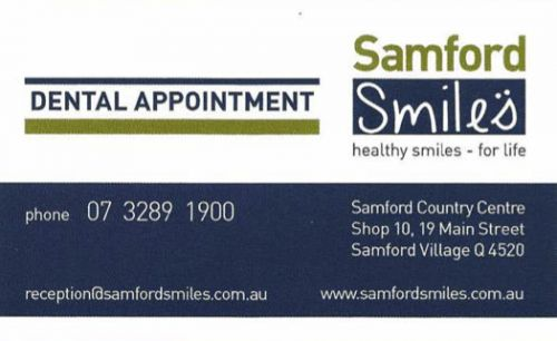 Samford Smiles - Dentists Hobart