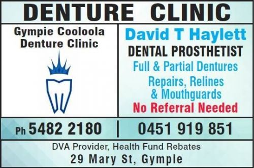 Gympie Cooloola Denture Clinic - Dentists Hobart