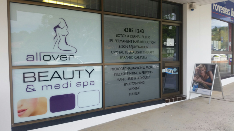 All Over Beauty  Medi Spa - Dentists Hobart
